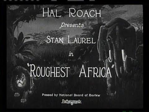 1923 - Roughest Africa (Rótulos en Castellano)