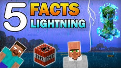 ✔ Minecraft - 5 Things You Didn't Know About Lightning