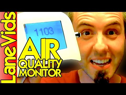 💨 BEST INDOOR AIR QUALITY TESTING 🏠 | Speck Air Quality Monitor Review | LaneVids