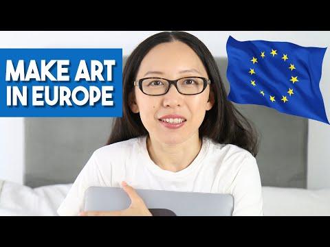 Make Art in Europe - Expat Artists Living in Europe