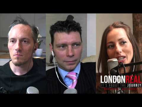 Deri Llewellyn-Davies - Iron Man & The Ayahuasca Baby   London Real
