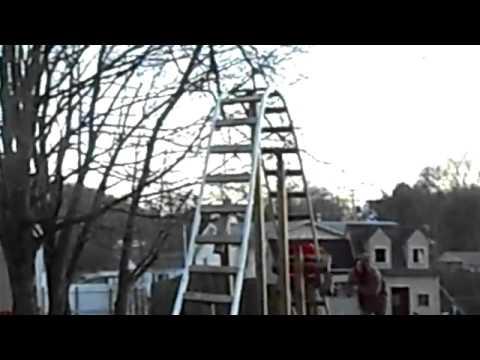 Achterbahn Im Garten Youtube