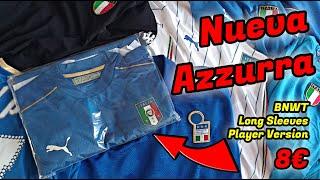 CAMISETA de FÚTBOL ORIGINAL NUEVA y PLAYER VERSION por 8 REVIEW ITALIA EURO 2016