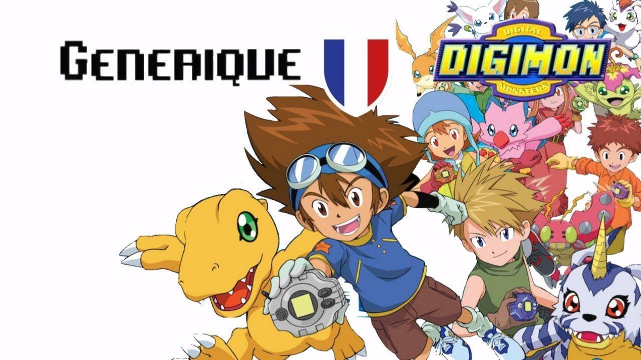 Generique Fr Digimon Youtube
