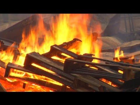 UPDATE: Fire destroys old chicken coop in Jackson Co, AL