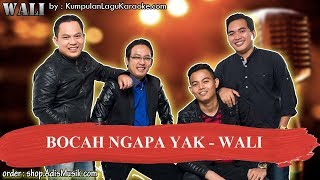 Download Mp3 Bocah Ngapa Yak - Wali Karaoke