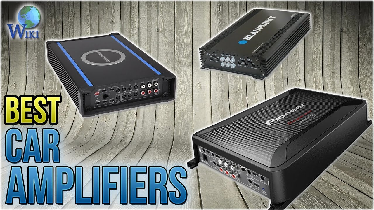 10 Best Car Amplifiers 2018 - YouTube