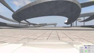 Zabawy w BeamNG - tory w konstrukcie