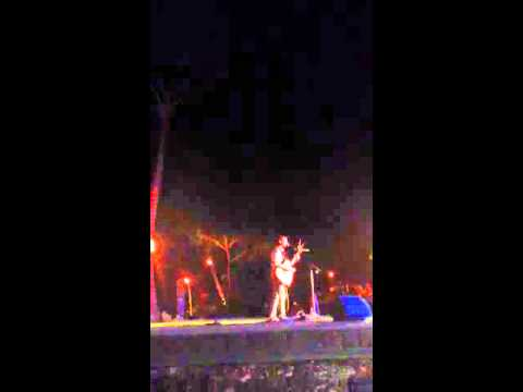 Makana performs James Taylor's Fire & Rain at the Hawaiian Islands Land Trust benefit luau