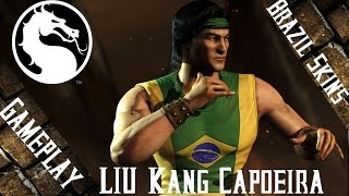 MKX - Liu Kang Capoeira Gameplay