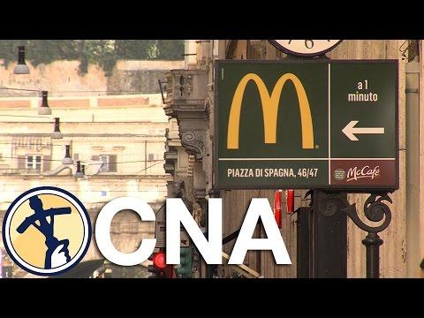 McVatican? McDonald's to open in Vatican property