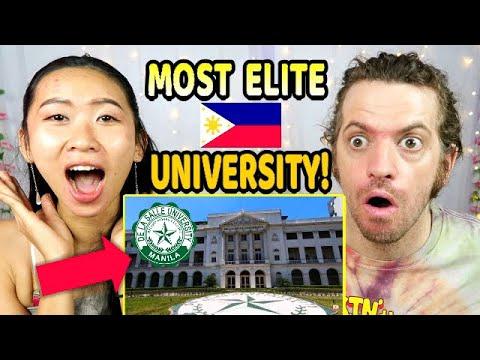 Download FOREIGNERS react to FILIPINO DE LA SALLE UNIVERSITY TOUR (DLSU in Manila, Philippines!