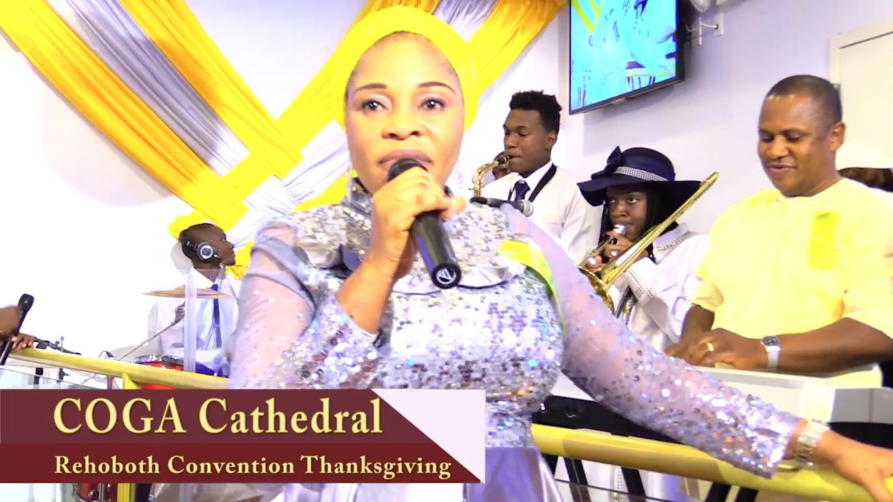 Download Evang. Tope Alabi in NYC at COGA Rehoboth Convention Thanksgiving Celebration 2016