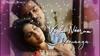 Vizhi Neerum Veenaga || Ennai Nokki Paayum Thotta || tamil love status ||riyaz editzz