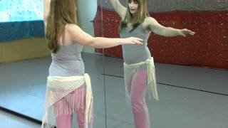 Video of Belly Dancing With Talia Lesson 22 - A Back Hip Twist