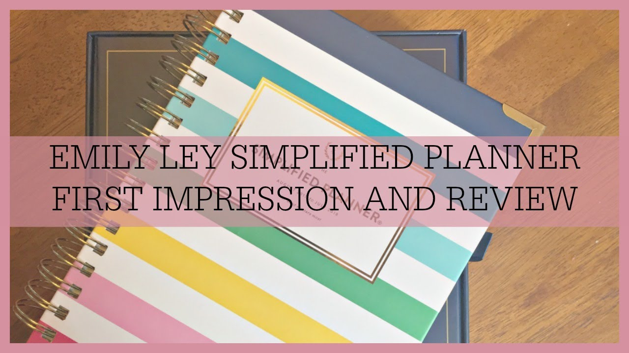 photo relating to Emily Ley Planners called Emily Ley Simplified Planner