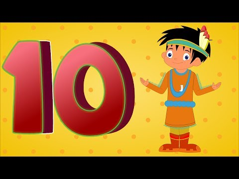 Ten Little Indians  Ten Little Indian Boys  Nursery Rhymes  Numbers Song For Children  Kids Tv