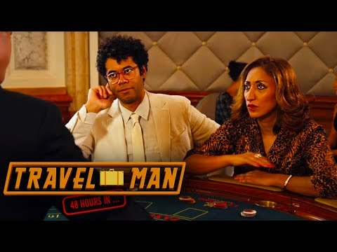 Richard Ayoade & Shazia Mirza go gambling - Travel Man: 48hrs on the Côte d'Azur...