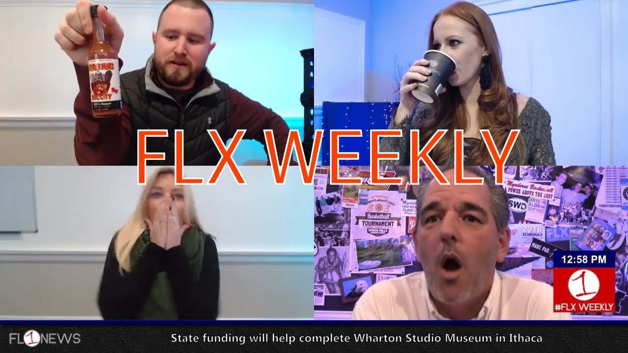 FLX WEEKLY: Snow in the forecast & hot sauce in the studio (podcast)