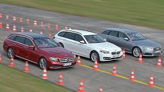 audi a6 avant vs bmw 5 series touring vs mercedes e class estate