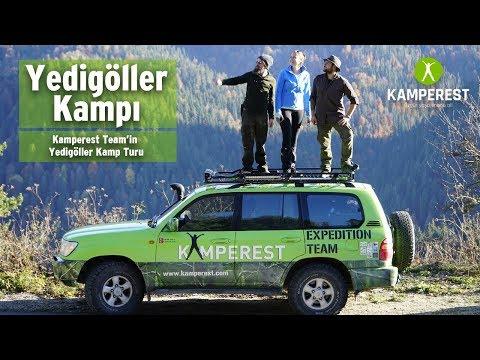 Yedigöller Çadır Kampı: Kamperest Kamp Ekibiyle Yedigöller Turu