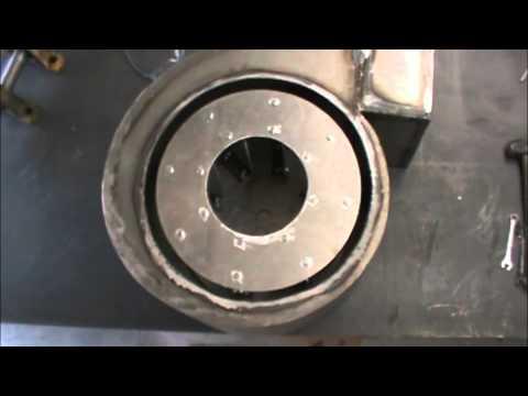Building a heavy duty centrifugal blower (Homemade)