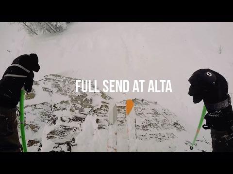 Liam O'Reilly Gets Sendy at Alta Ski Area