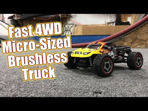 Micro RC Monster Truck Madness! - Carisma GT24T Micro 4WD Running & Review | RC Driver
