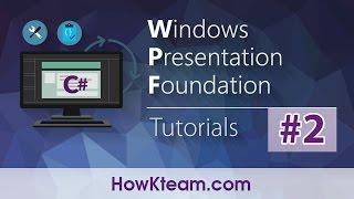 [Khóa học lập trình WPF] - Bài 2: TextBlock   HowKteam