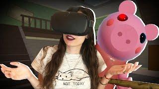 JUGAMOS PIGGY EN REALIDAD VIRTUAL POR PRIMERA VEZ   ROBLOX VR