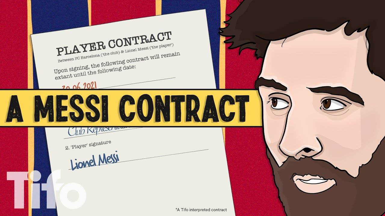 What's happening with Messi and Barcelona?