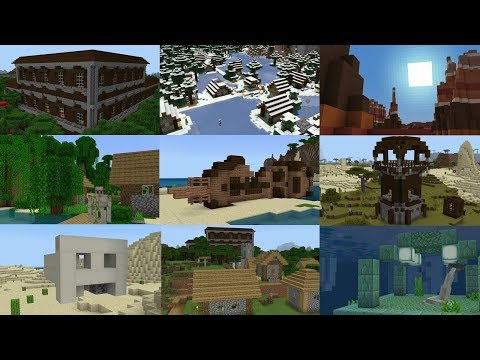 TOP 20 BEST SEEDS for MINECRAFT 1.12! (Pocket Edition, Xbox One, Switch, W10)