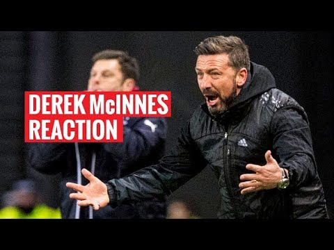 Derek McInnes reaction