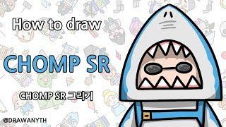 How to draw CHOMP SR | fortnite