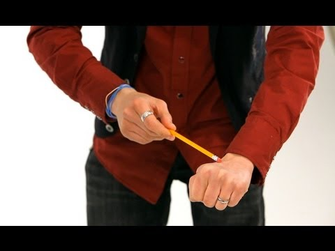 How to Do Pencil & Bill Vanish Trick | Magic Tricks