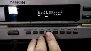 CD COM PITCH DENON DN-600F
