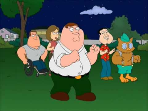 Family Guy - Can't touch me :)