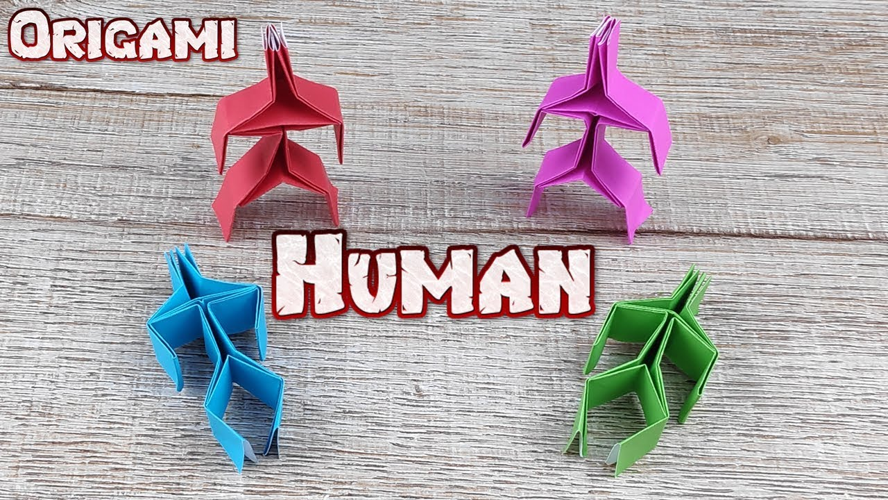 Lots of Really Cool Different Kinds of Origami People | 720x1280
