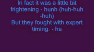 Download Fatboy Slim - Kung Fu Fighting (LYRICS ON SCREEN)