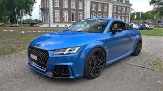Audi TT RS 8S 2.5 TFSI Stage 4 TTE700 Hybrid Turbo & Decat Downpipe 658HP!