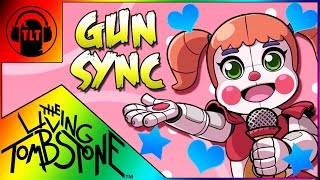 ♪ I CAN'T FIX YOU ♪ ~ The Living Tombstone FNAF SISTER LOCATION Gun Sync Song (Lyric Video Remix)