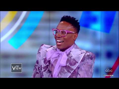 Billy Porter Serves Cataract Realness, Fashion, and Tonys | The View