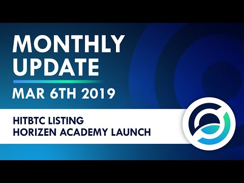 Horizen Live Stream 6 Mar 2019 - Community Activity And Team Updates
