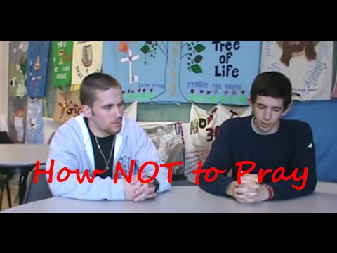 TCA: How NOT to Pray