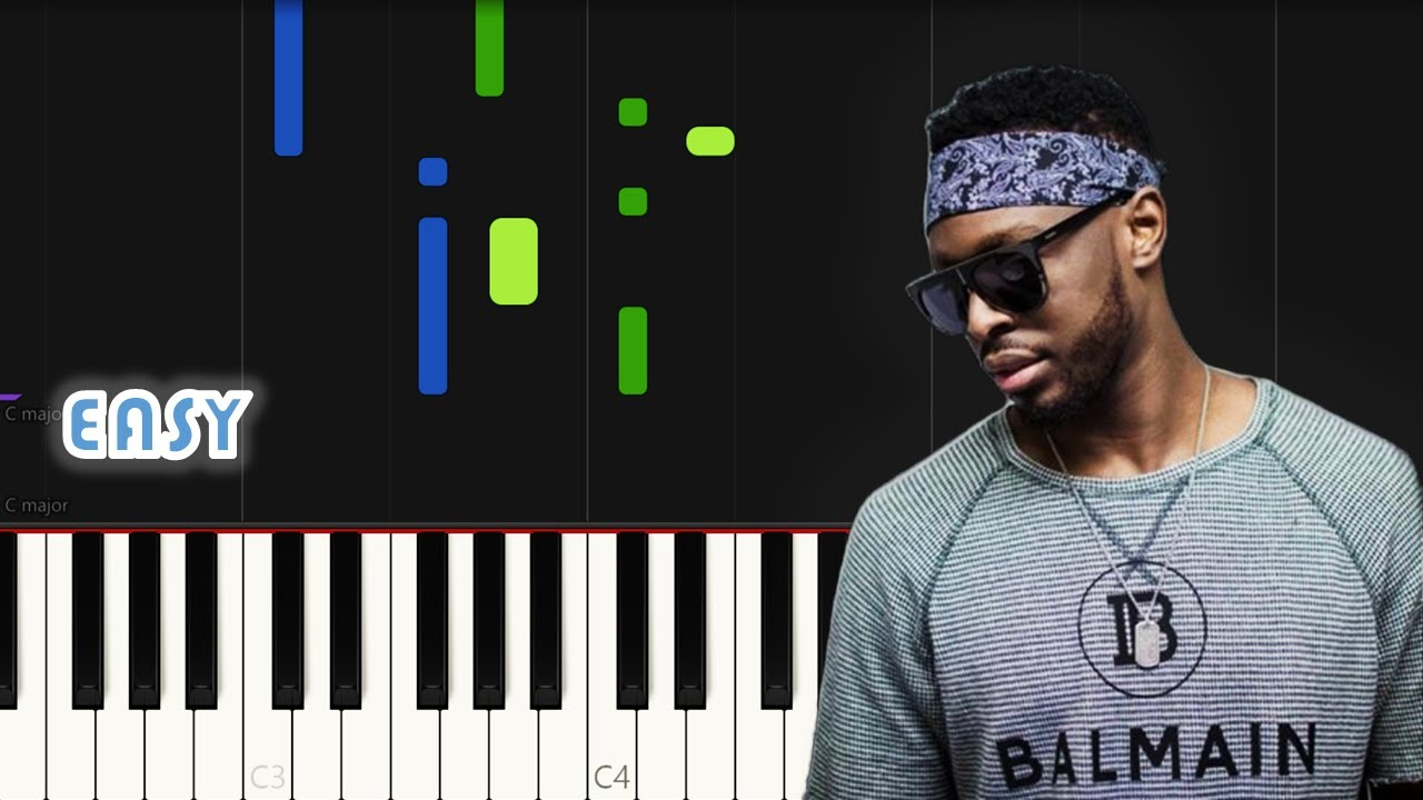 DADJU - Grand Bain ft. Ninho | EASY PIANO TUTORIAL by Synthly