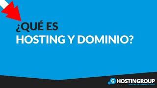 Que es Hosting y Dominio -  Explicado Paso a Paso y Sencillo
