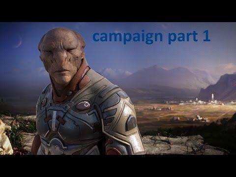 Grey Goo - campaign part 1 - Hunters' Valley  