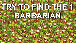 Try To find the BARBARIAN - Clash Royale Funny moments montage - clash parody