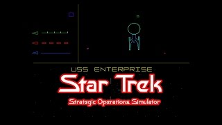 Star Trek: Strategic Operations Simulator - Star Trek Arcade Game 1983