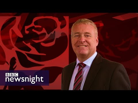 The MP who received £165,000 from a trade union - BBC Newsnight